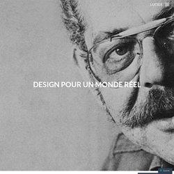 Design pour un monde réel