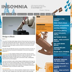 Design vs Music | Insomniafestival.no