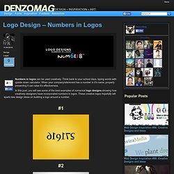 Logo Design - Numbers in Logos