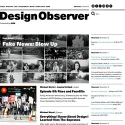 Design Observer: writings about design & culture