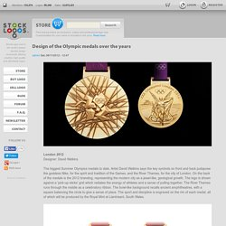 Design of the Olympic medals over the years