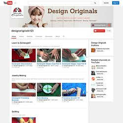 designoriginals123's Channel‬‏