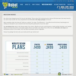 Web Design Packages & Prices