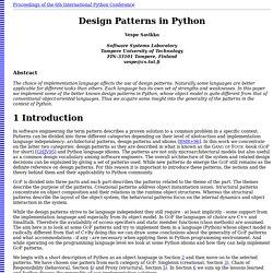 Design Patterns in Python