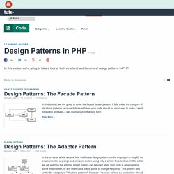 Design Patterns in PHP - Tuts+ Code Tutorials