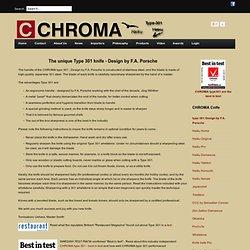 type301 - CHROMA Cnife