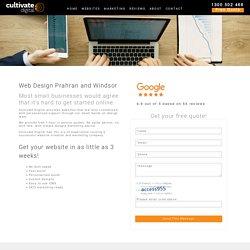 Web Design Prahran and Windsor