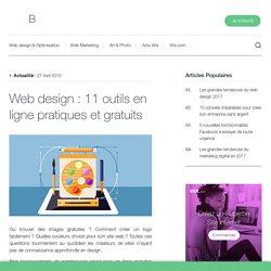 Web design : 11 outils en ligne pratiques et gratuits