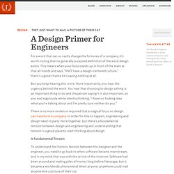 A Design Primer for Engineers