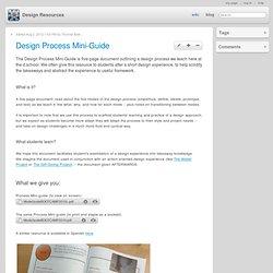 Design Process Mini-Guide