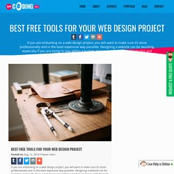 Best FREE Tools for Your Web Design Project - WPCodingDev
