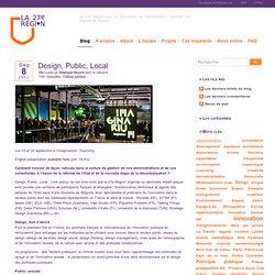 Design, Public, Local