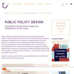 Le design des politiques publiques