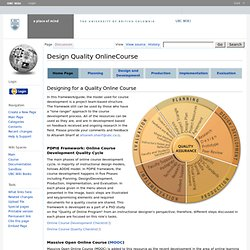 Design Quality OnlineCourse