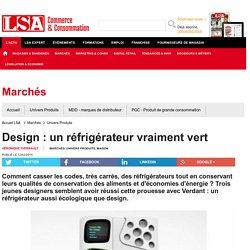 Design : un réfrigérateur vraiment vert
