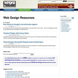 Web Design Resources