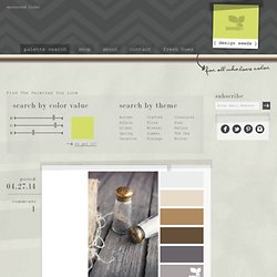 Design Seeds&: For All Who Love Color | Search