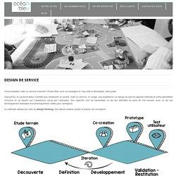 Design de service - océan bleu - le sens de l'innovation