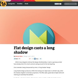 Flat design casts a long shadow