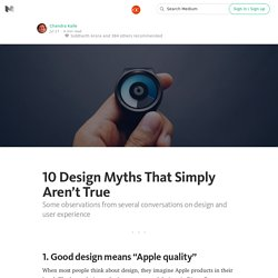10 Design Myths That Simply Aren't True — The App Entrepreneur