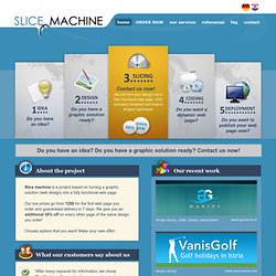 Design slicing - Slice Machine