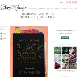 Design*Sponge Online Black Book: Grey Paint