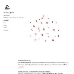 Une vision du travailler ensemble, le Design Sprint