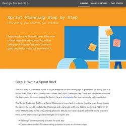 Design Sprint Planning Step by Step – Design Sprint Kit