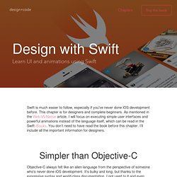 Design with Swift - Design+Code