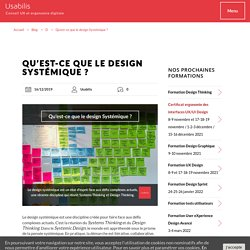 Qu'est-ce que le Design Systémique ? Design Systémique définition