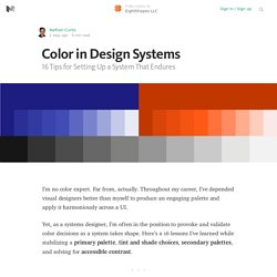 Color in Design Systems — EightShapes LLC