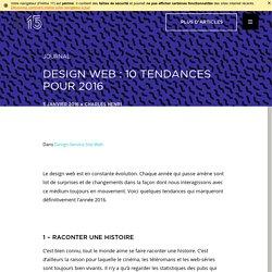 Design web : 10 tendances pour 2016 – Kryzalid
