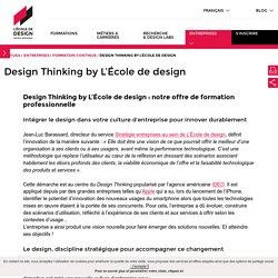 Design Thinking by L'École de design