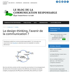Le design thinking, l'avenir de la communication ?