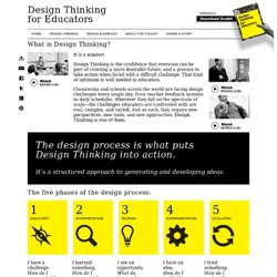 Design Thinking « Design Thinking for Educators