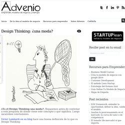 El Design Thinking ha muerto