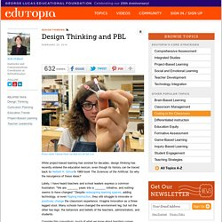 Design Thinking and PBL