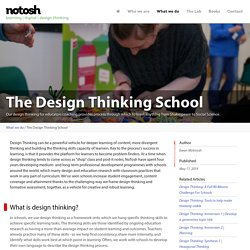 The Design Thinking School | NoTosh
