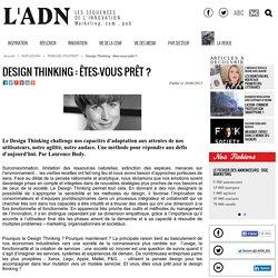 Design Thinking : êtes-vous prêt ? - Tribune d'expert