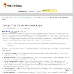Logo Tips, Creative Ideas and Logos