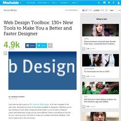 130+ Web Design Tools