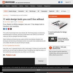 10 web design tools you can't live without