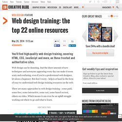 Web design training: the top 20 online resources