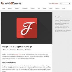 Design Trend: Long Shadow Design