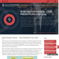 Web Design Trends – Top Predictions for 2019