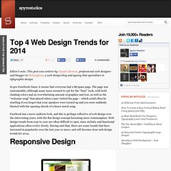 Top 4 Web Design Trends for 2014