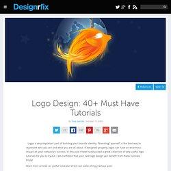 Logo Design: 40+ Must Have Tutorials