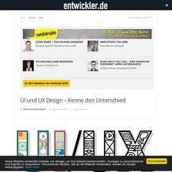 UI und UX Design – Kenne den Unterschied - entwickler.de