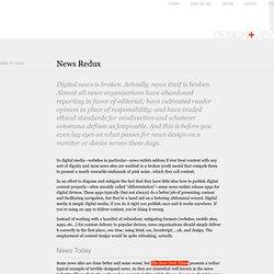 News Redux: NYT redesign