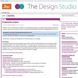 The Design Studio / Viewpoints project